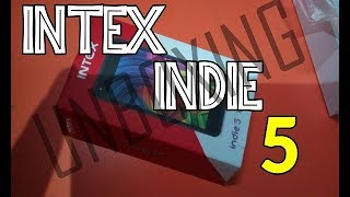 Unboxing Intex Indie 5