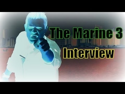 Behind The Scenes Of The Marine 3 (Interview)