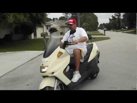 Linhai 260 Classic Scooter