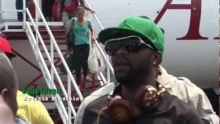 Fally Ipupa Arrivee Goma 2011