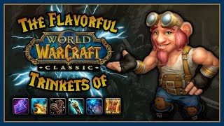 The Flavorful Trinkets of Classic WoW