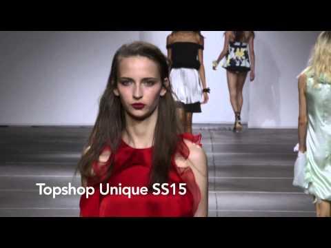 Topshop Unique  SS15 at London Fashion Week