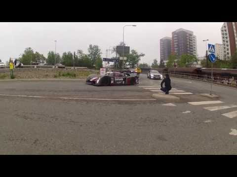 Gumball3000 with Audi R8, Audi Q7 and Rebellion R2k