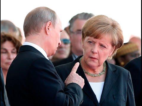 Wladimir Putin will Angela Merkel stürzen!