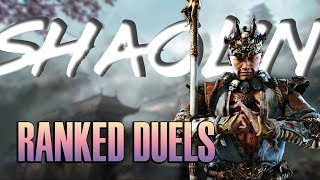 [FOR HONOR] Deflecting In Ranked? + AN ANNOUNCEMENT - Rep 70 Shaolin Ranked Duels