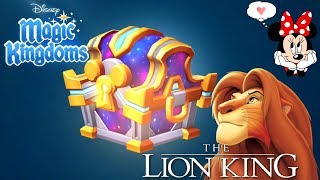 The Lion King Legendary Chest Pack! Disney Magic Kingdoms | Gameplay Walkthrough Ep.241