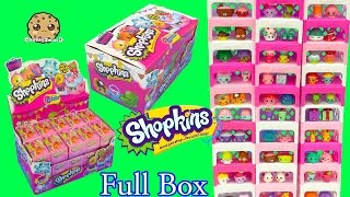 Shopkins Stack Challenge - Full Complete Season 4 Box of 30 Surprise Blind Bags - Cookieswirlc