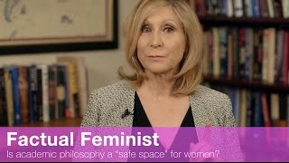 """Is academic philosophy a """"safe space"""" for women? 