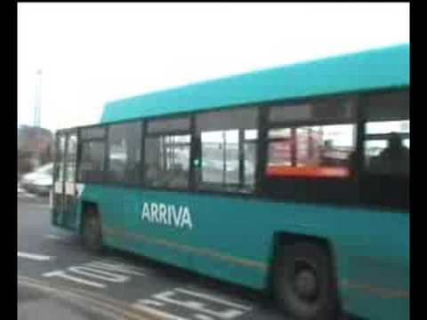 Some buses around Crewe.