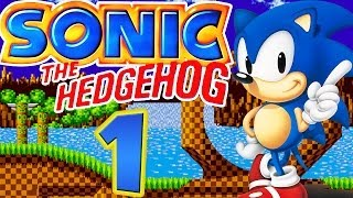 SONIC THE HEDGEHOG # 01 ★ Green Hill & Marble Zone [HD]