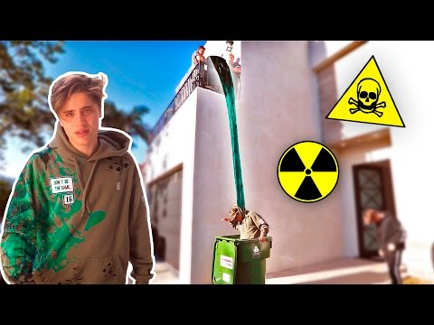 TOXIC SLIME DUMP PRANK (THIS DIDN'T END WELL)