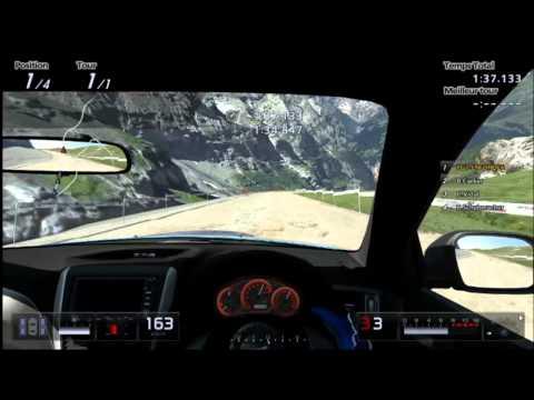 Gran Turismo 5 Gameplay : Subaru Impreza STI 2010 sur Eiger Nordwand Piste K