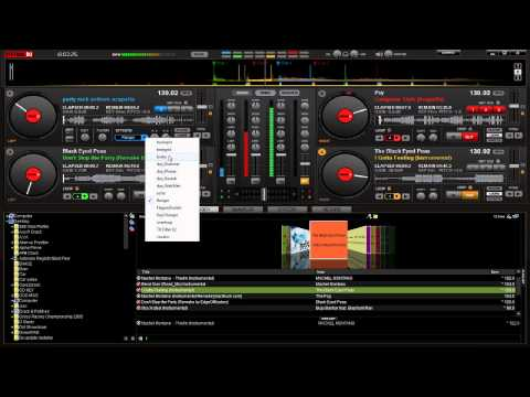 How to use Virtual DJ Pro7 4 Decks Mix.