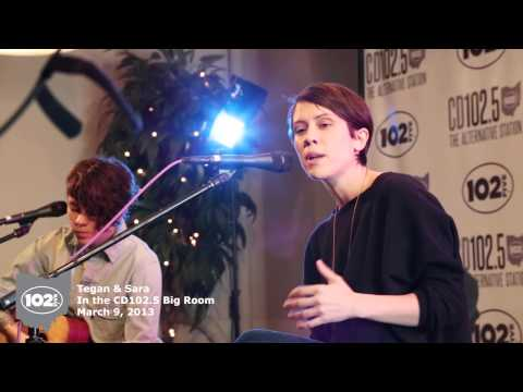 Tegan & Sara in the CD102.5 Big Room