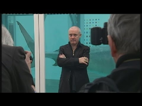 euronews le mag - Retrospectiva de Damien Hirst en Londres