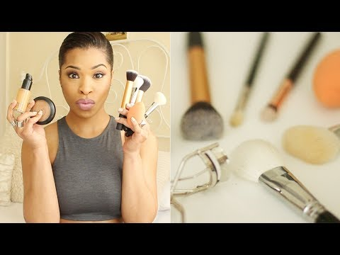 MAKEUP STARTER KIT (Part 2) | Top 12 Brush/Tools Picks!