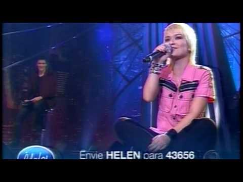 ÍDOLOS 2009 -Helen Lyu - Fico assim sem você  HD