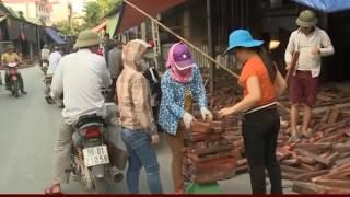 Làng nghề Đồng Kỵ tồn động lớn lượng gỗ trắc
