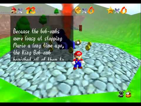 Kaizo Mario 64 - Parte 1 - User video