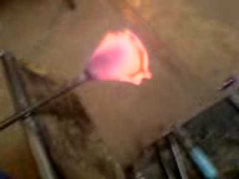 Glass Blowing - Fish - Bristol Blue Glass