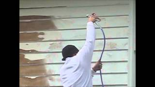 How to Paint Wood Siding House