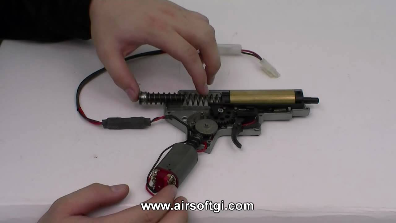 Airsoft Gi 101 How It Works Automatic Electric Gun