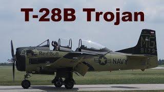 T-28B Trojan, The Flying Bulls, Pardubice Airshow, 2018