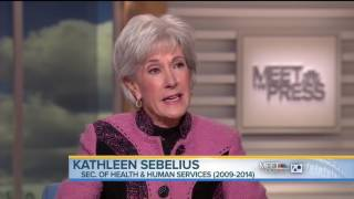 Kathleen Sebelius: Bill Clinton Is Right ObamaCare Is Crazy System