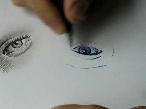 Mitzi Martin Eyes. drawing an eye