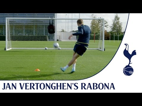 Jan Vertonghen's Rabona - Ball In The Bag Challenge | Spurs TV
