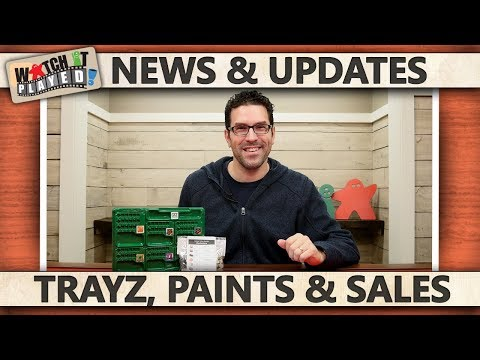News (2017-12-21): Trayz, Paints and a Sale!