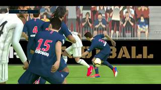 PSG 0-1 Real Madrid | PES gameplay | new update 2020