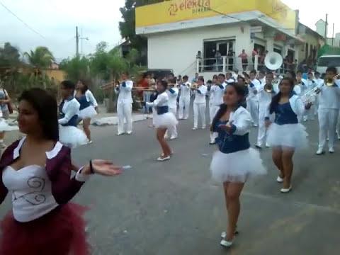 Banda Pedro Molina Morales Izabal Desfile de Feria Gualan Zacapa 2,014