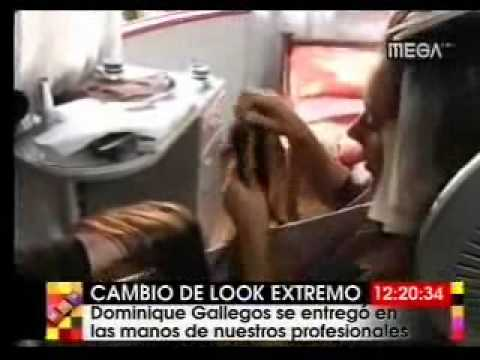 Cambio de Look a Dominique Gallegos en