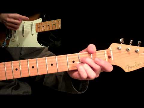 Basic 12 Bar Blues Rhythms - Beginner Guitar Lesson