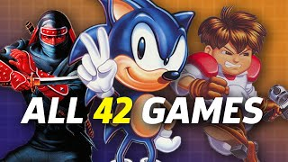 Sega Genesis Mini Gameplay - All 42 Games