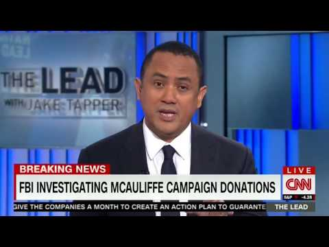 CNN: Virginia Gov. Terry McAuliffe under federal investigation regarding campaign donations