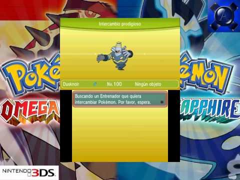 Intercambio Prodigioso Shinys 1   Pokémon Rubí Omega Zafiro Alfa