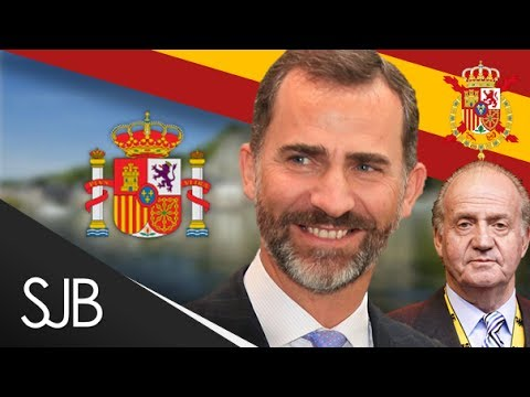 King Felipe VI Crowned as King of Spain -  Rey Felipe VI coronado, Rey de España - Spanish Monarchy