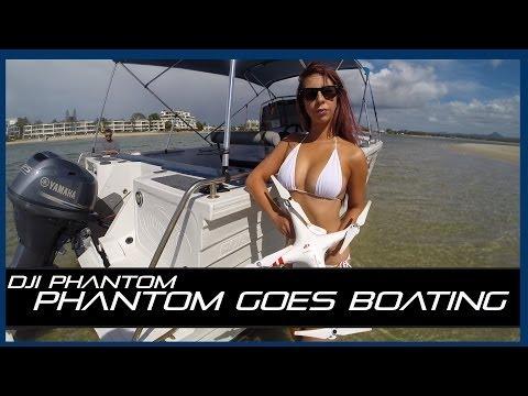Tips on Boating with the DJI Phantom & some Bikini Action! (Tip #3)
