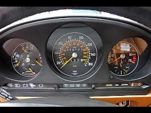 How to remove speedometer cluster from mercedes 560sl 1989 for Mercedes benz cluster repair
