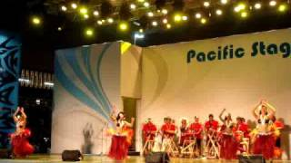 Polynesian Dancers @ World Expo in China 2010.