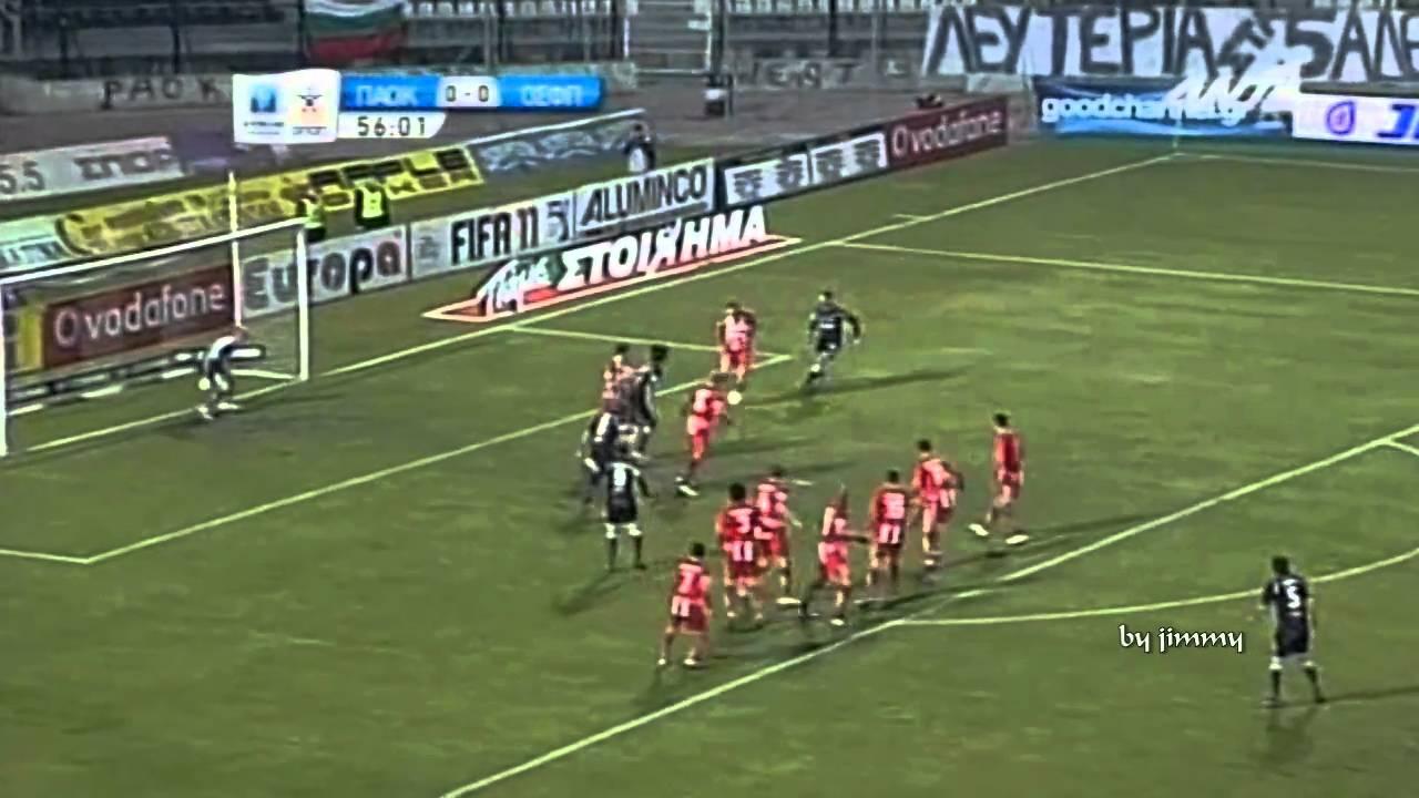 Paok Osfp 1-0 Paok Olympiakos 1-0 Oles oi