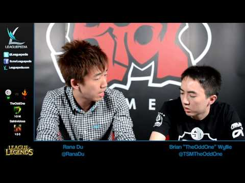 LCS Week 9 Day 2 - TSM TheOddOne 