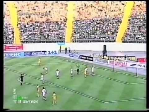 Украина - Армения 4:3. Отбор ЧЕ 2004.обзор матча (07.06.2003)