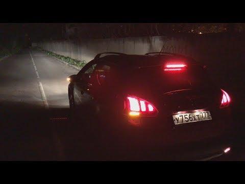 Peugeot 2008 - ночной обзор; что может оптика, какова подсветка интерьера?