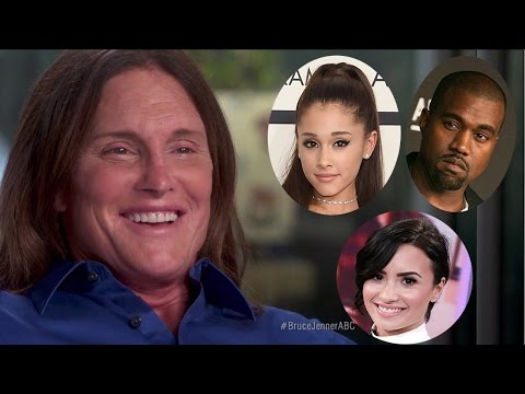 Celebs React to Bruce Jenner Interview