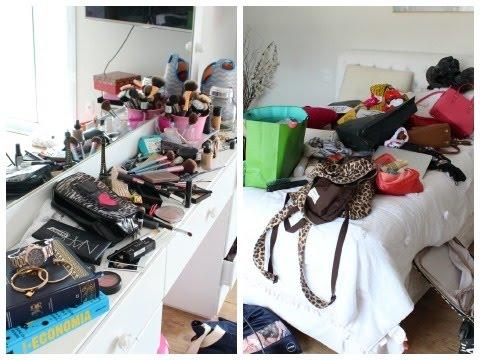 Como eu arrumo o meu quarto