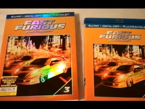 The Fast and the Furious: Tokyo Drift (2006) - Blu Ray Review and Unboxing