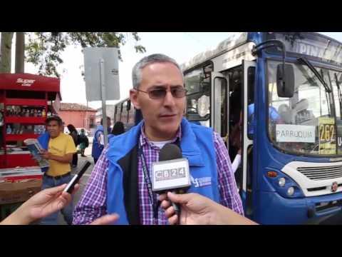 Usuarios del transporte público de Guatemala se quejan de poca seguridad y comodidad